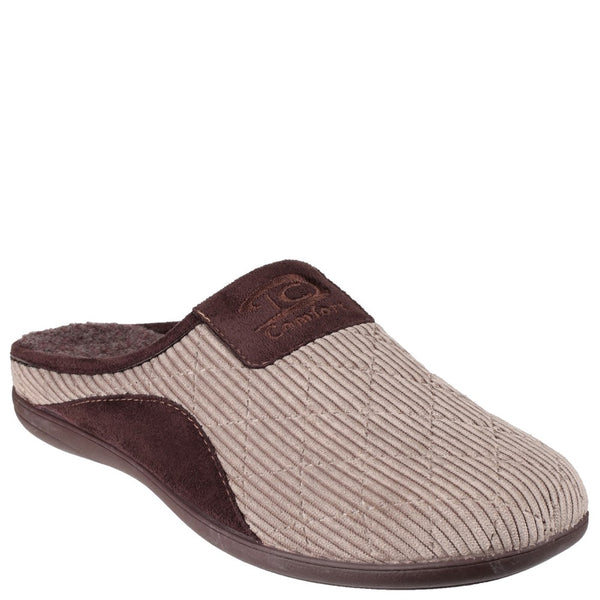 Cotswold Tysoe Slip On Mule Slipper