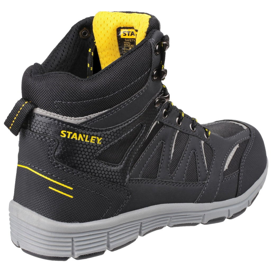 2ce46dc68d0 Womens,Mens Stanley Pulse Black S1 P Sports Safety Boot Black – Brantano