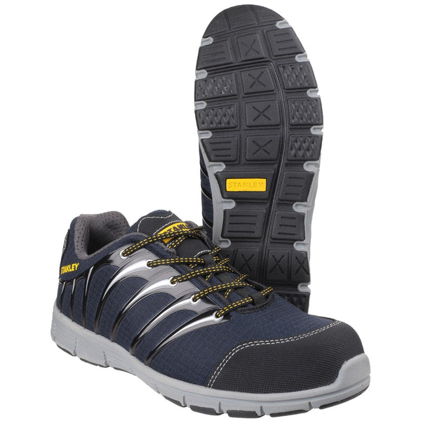 Stanley Globe Navy/Grey S1 P Sports Safety Trainer