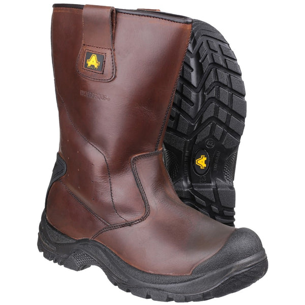 Amblers Safety AS249 Cadair Waterproof Pull on Rigger Boot