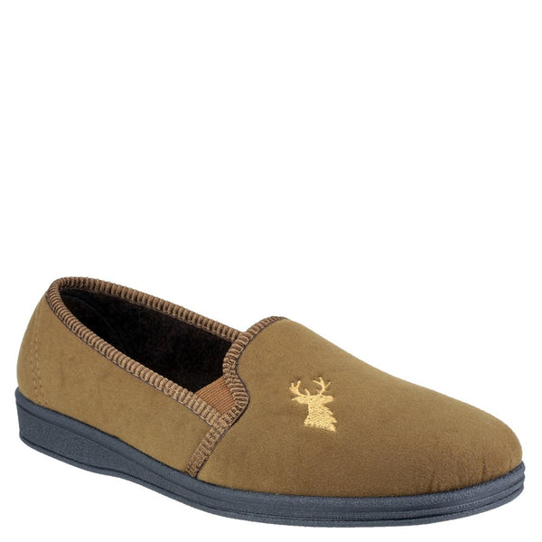 Mirak Stag Slip On Slipper