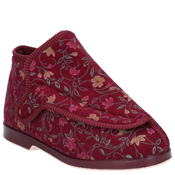 GBS Rhona Ladies Extra Wide Fit Slipper