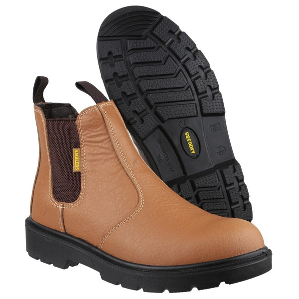 Amblers Safety FS115 Dual Density Pull on Chelsea Safety Boot
