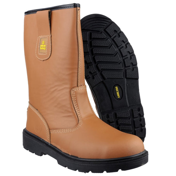 Amblers Safety FS124 Water Resistant Pull on Safety Rigger Boot