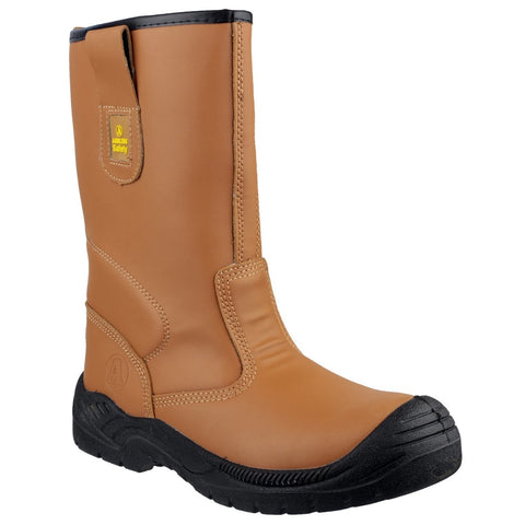 Amblers Safety FS142 Water Resistant Pull On Safety Rigger Boot