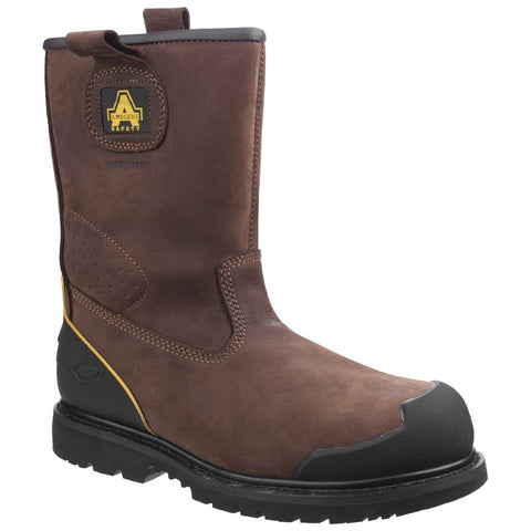Amblers Safety FS223 Goodyear Welted Waterproof Pull on Industrial Safety Boot