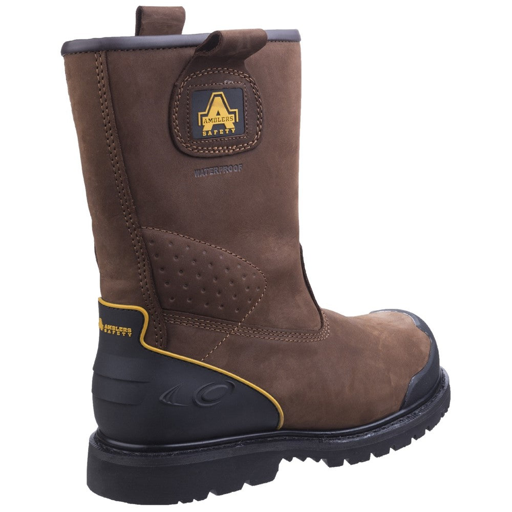 7cb736e1f24 Amblers Safety FS223 Goodyear Welted Waterproof Pull on Industrial Safety  Boot