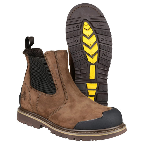 Amblers Safety FS225 Goodyear Welted Waterproof Pull On Chelsea Safety Boot