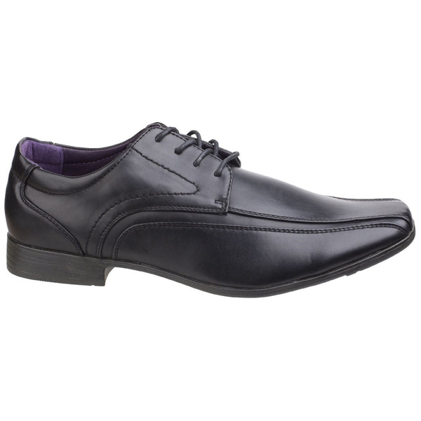 US Brass Hauser Mens Lace Up Shoes Black