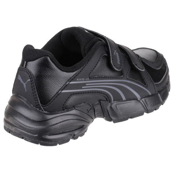 Puma Axis V3 Touch Fastening Childrens Shoe