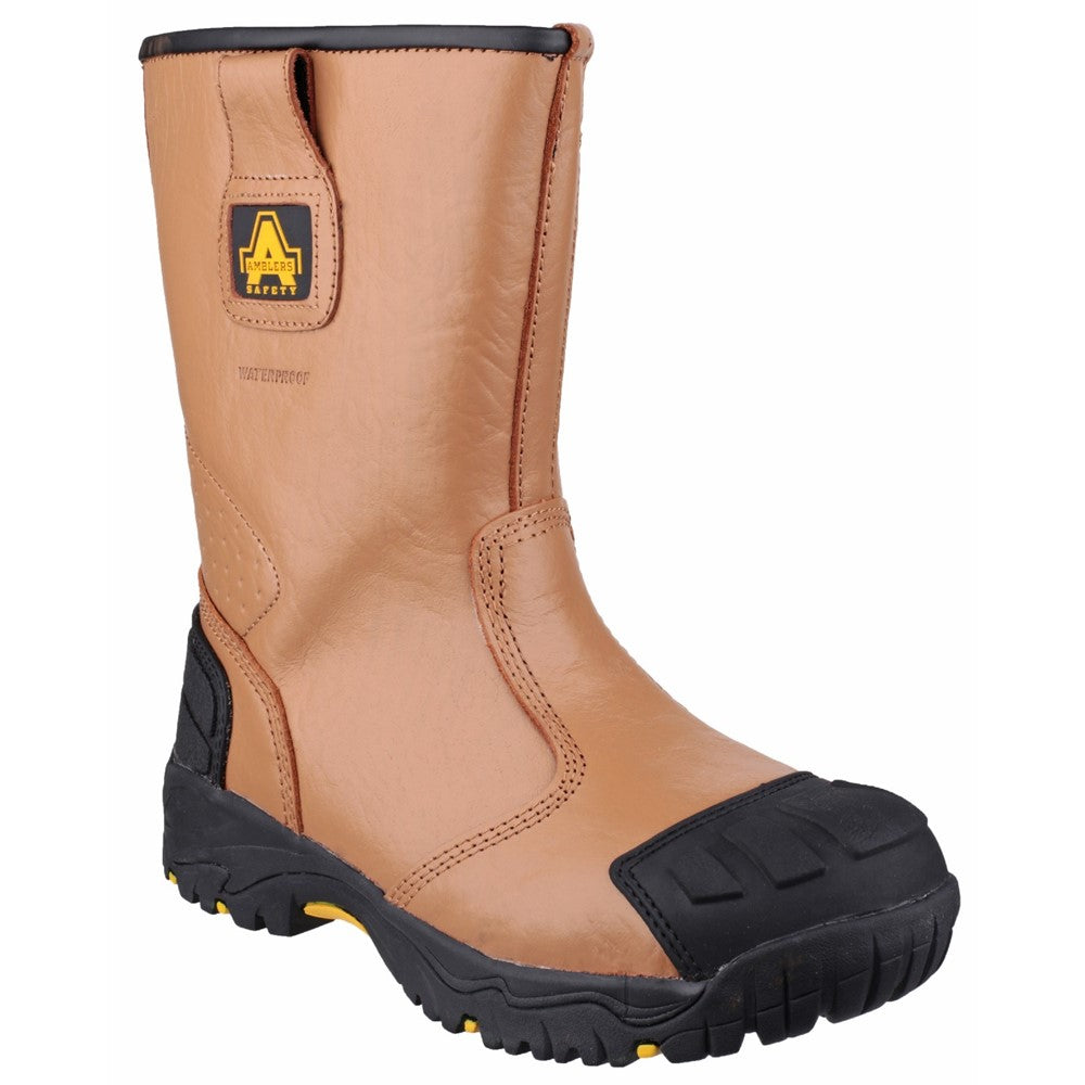 197abfaa13a Amblers Safety FS143 Waterproof pull on Safety Rigger Boot