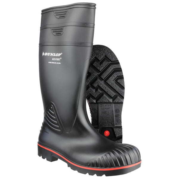 Dunlop Acifort  Heavy Duty Full Safety Wellington