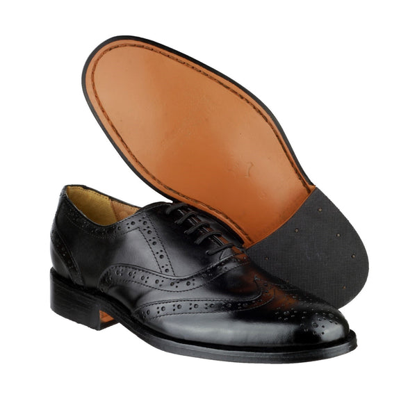 Amblers Ben Leather Soled Oxford Brogue