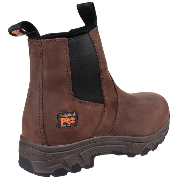 Timberland Pro Workstead Water Resistant Pull on Dealer Safety Boot