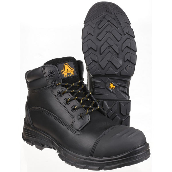 Amblers Safety AS201 QUANTOK S3 PU/RUBBER SAFETY BOOT