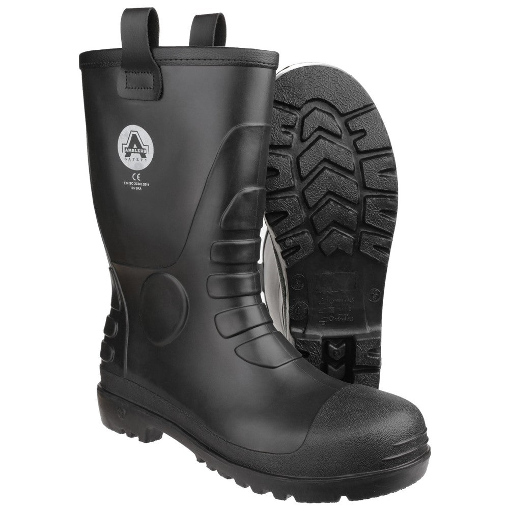 c238d7c3638 Amblers Safety FS90 Waterproof PVC Pull on Safety Rigger Boot