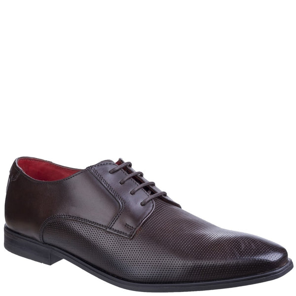 Base London Charles Waxy Lace Up Derby Shoe