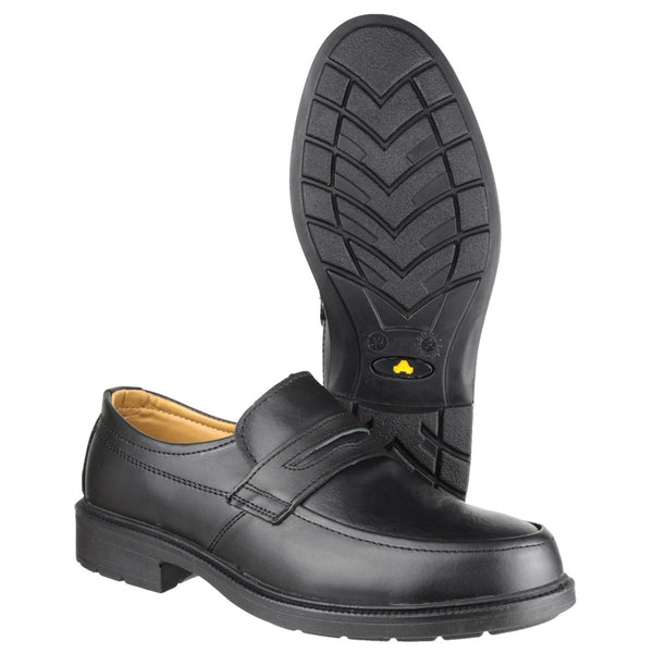 Amblers Safety FS46 Mocc Toe S1P SRC Safety Slip On Shoe