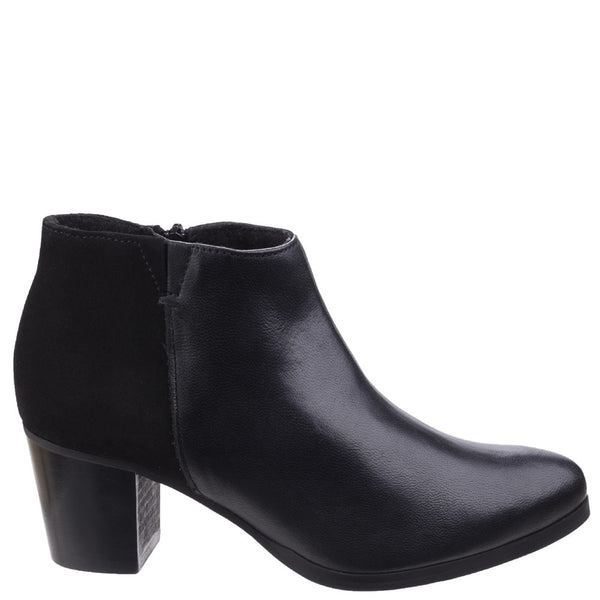 Riva Claudia Leather/Suede Ankle Boot