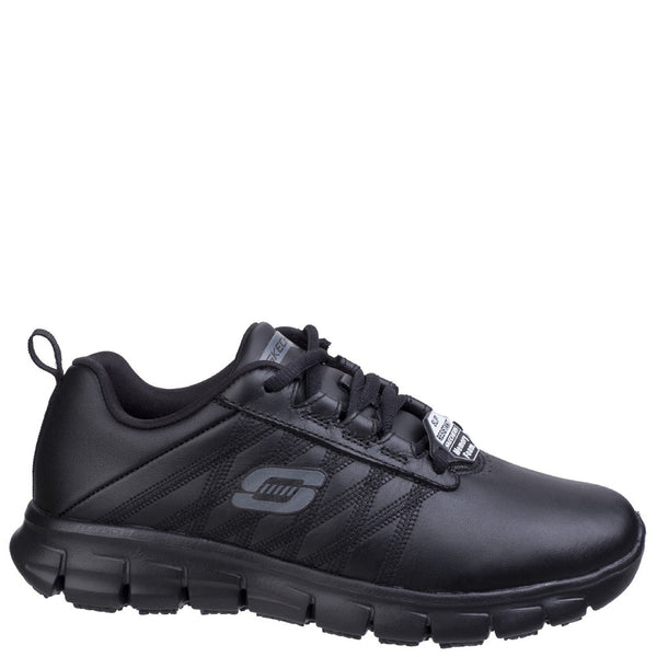Skechers Sure Track Erath Lace Up Work Shoe