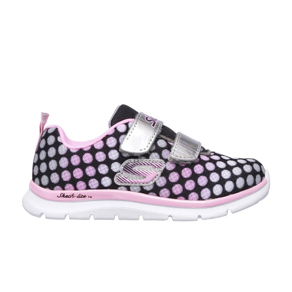 Skechers Skech-Lite Lil' Dots Touch Fastening Trainer