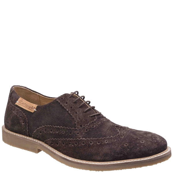 Cotswold Chatsworth Suede Wingtip Shoes