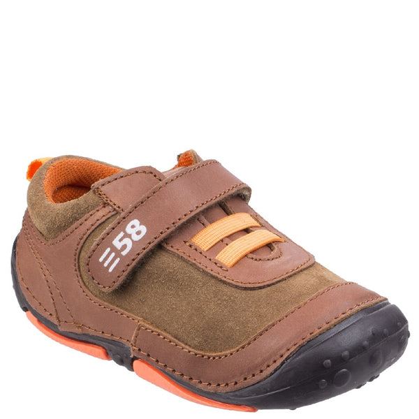 Hush Puppies Harry Touch Fastening Trainer