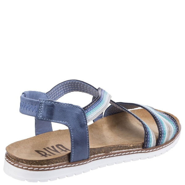 Riva Dante Multi Leather Sandal