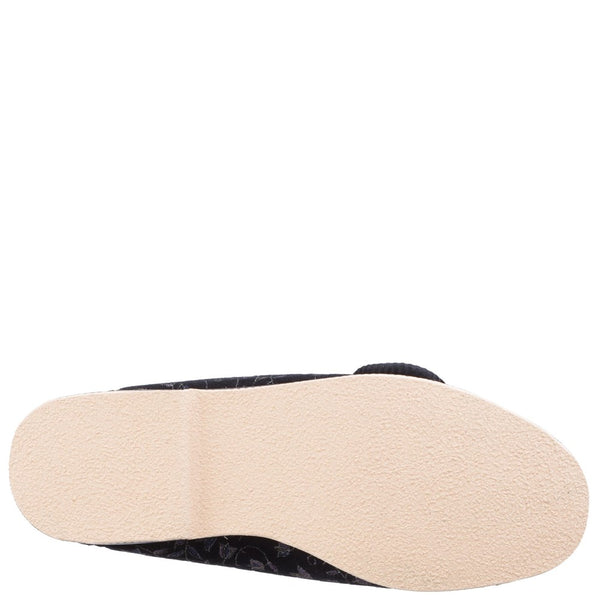 GBS Nola Extra Wide Fit Ladies Slipper
