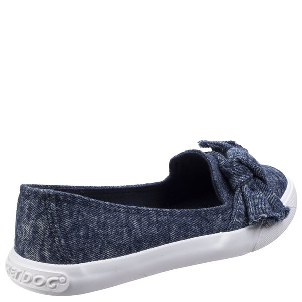 Rocket Dog Clarita Stonewash Slip On Trainer