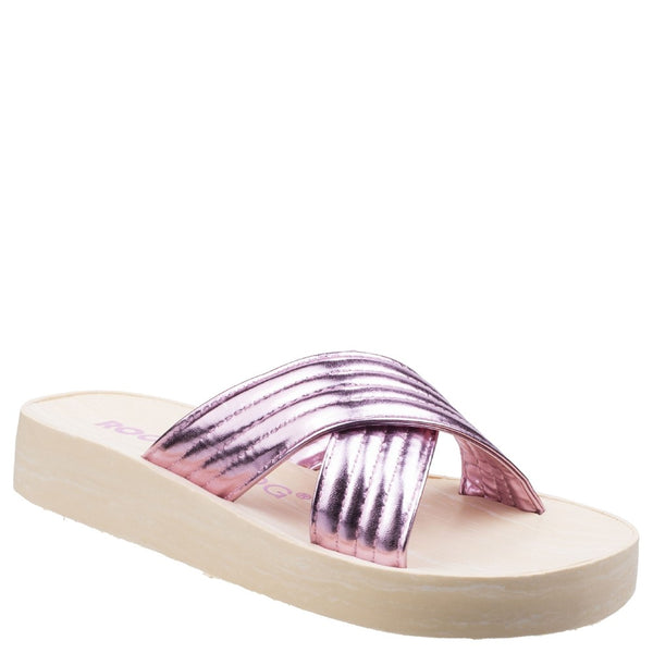 Rocket Dog Moon Shimmy Slip On Sandal