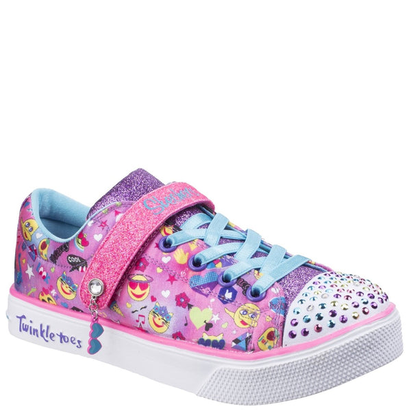 Skechers Twinkle Breeze 2.0 Character Cutie Touch Fastening Trainer