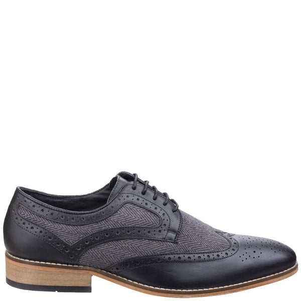 Lambretta Fenchurch Combi Brogue Lace Shoe