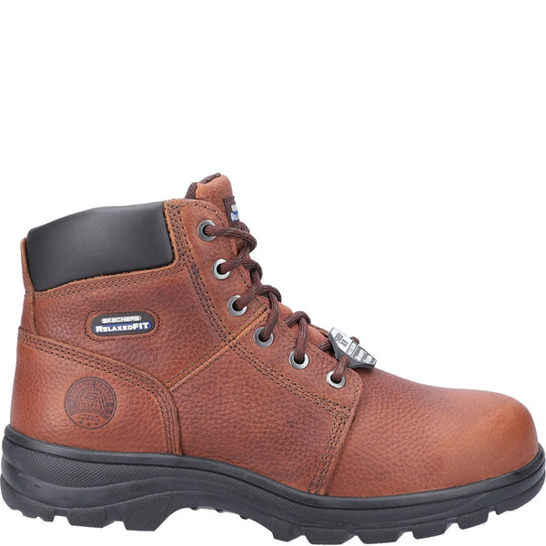 Skechers Workshire Lace Up Safety Boot