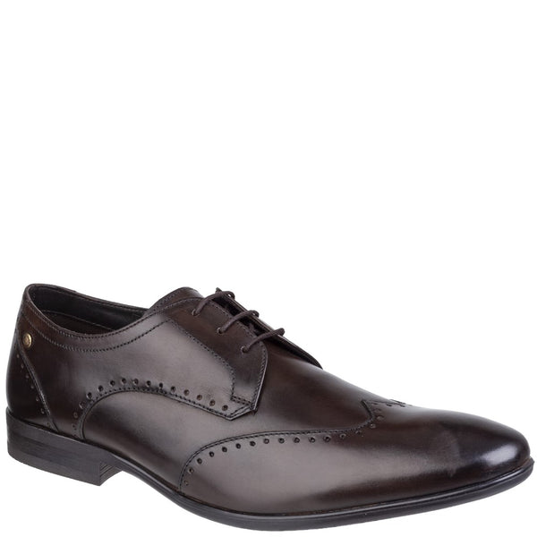 Base London Buckingham Washed Wingtip Derby