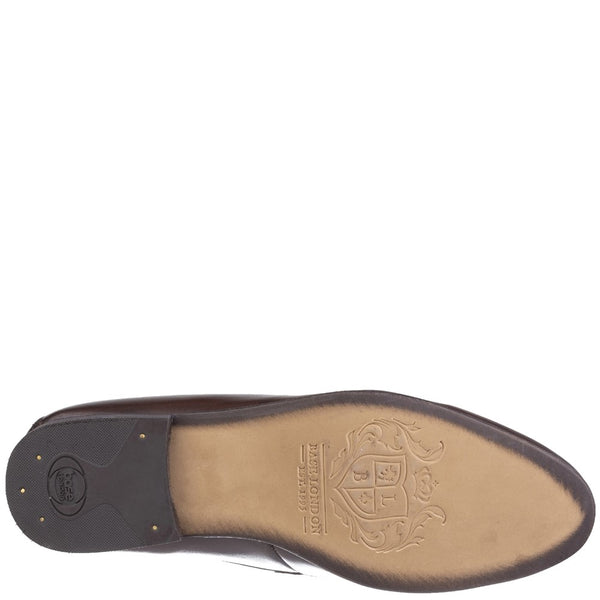Base London Tenor Washed Penny Loafer
