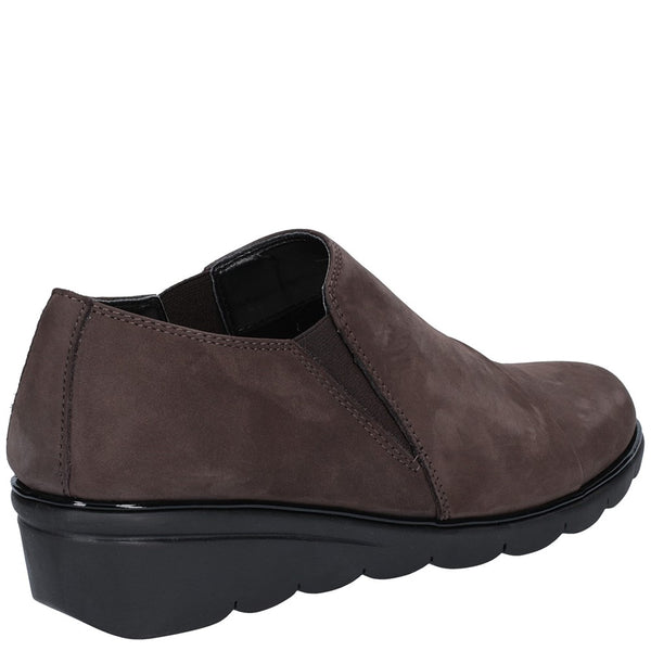 The Flexx Boost Nubuck Slip On Shoe
