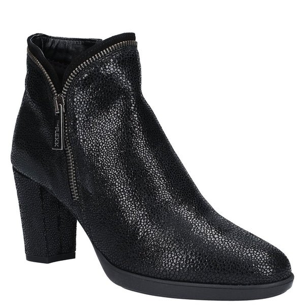 The Flexx Briseide Zip Up Heeled Ankle Boot