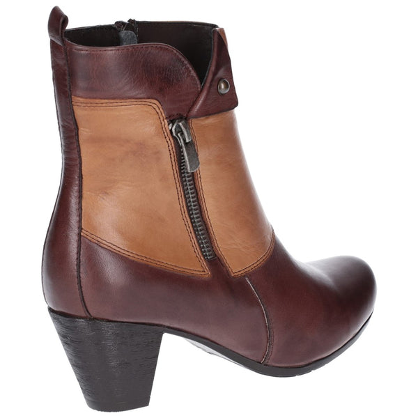 Riva Tirso Leather Ankle Boot