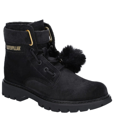 CAT Footwear Conversion Velvet Ankle Boot