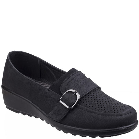 Caravelle Brampton Slip On Buckle Shoe