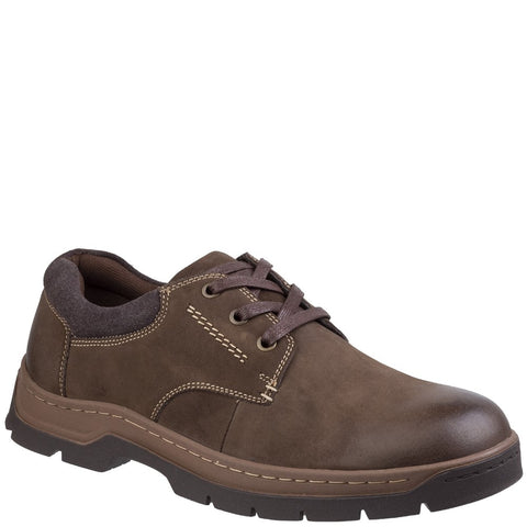 Cotswold Thickwood Burnished Leather Casual Shoe