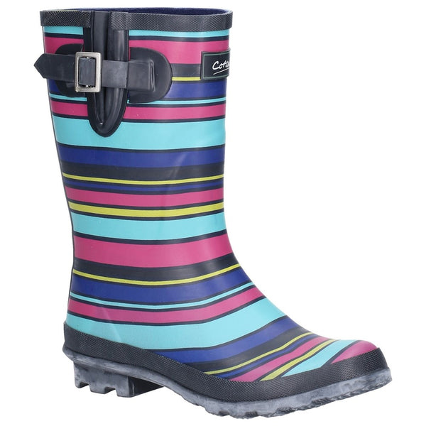 Cotswold Paxford Elasticated Mid Calf Wellington Boot