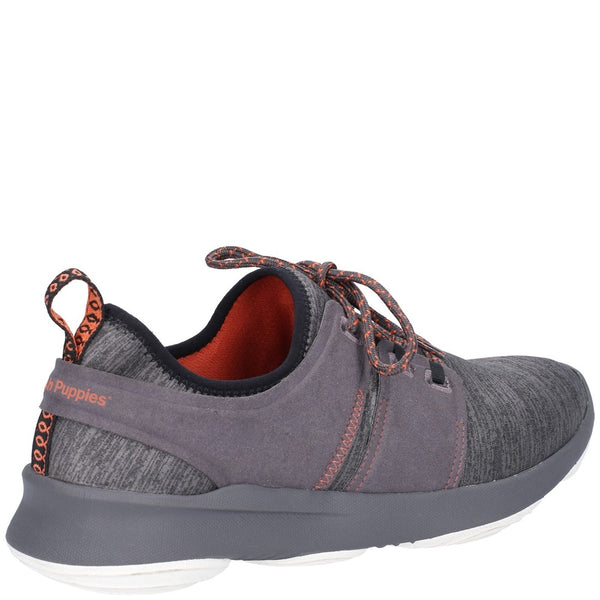 Hush Puppies Geo BounceMax Lace Up Trainer