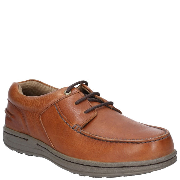 Hush Puppies Winston Victory Causal Lace Up Moccasin Shoe
