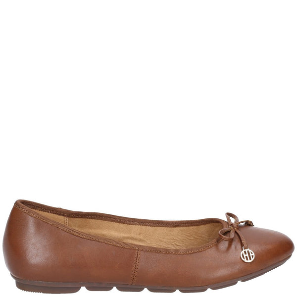 Hush Puppies Abby Bow Ballet Slip On Pump Shoe