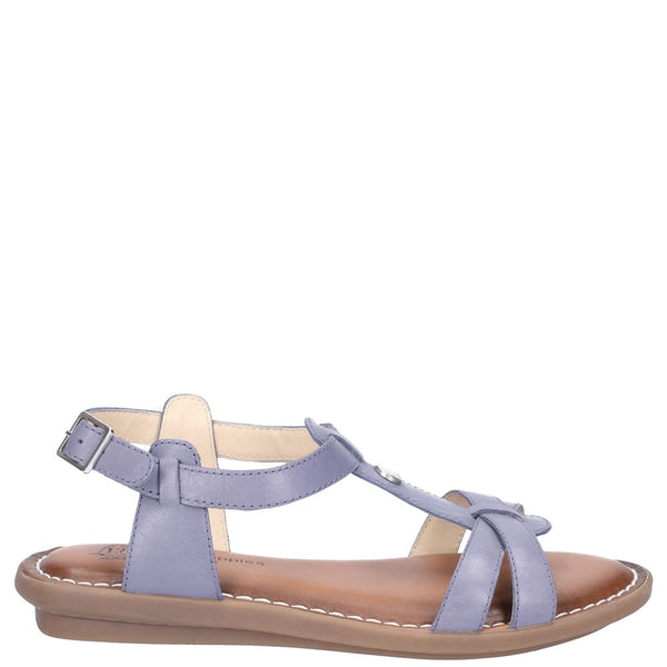 Hush Puppies Olive Tstrap Buckle Strap Sandal