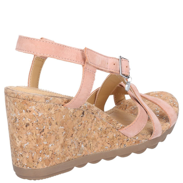 Hush Puppies Pekingese Strappy Buckle Sandal