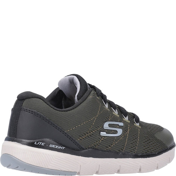 Skechers Flex Advantage 2.0 Lightweight Lace Up Trainer