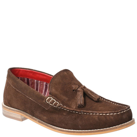 Base London Tempus Suede Slip on Shoe